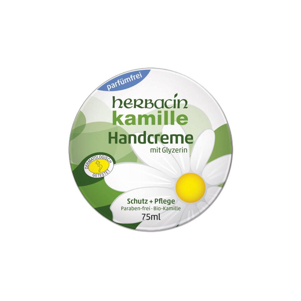 Herbacin Handcreme ohne Parfüm - 75ml Dose