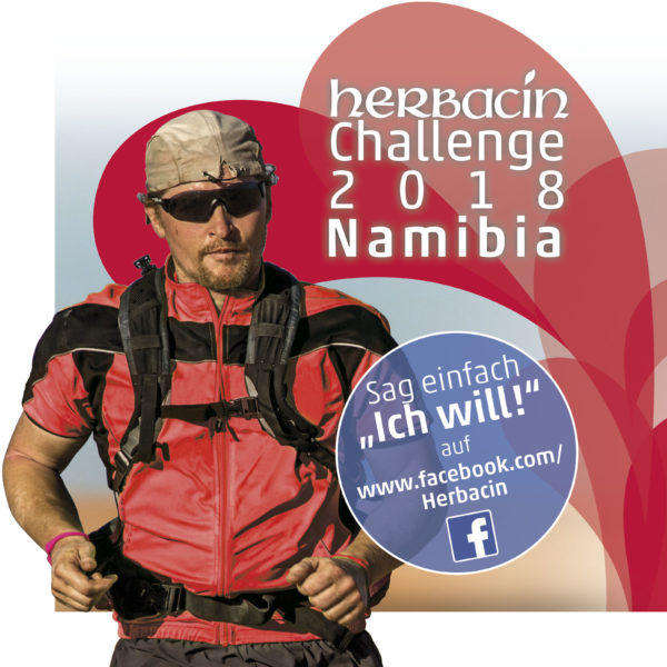 Herbacin Challenge 2018 mit Joey Kelly in Namibia