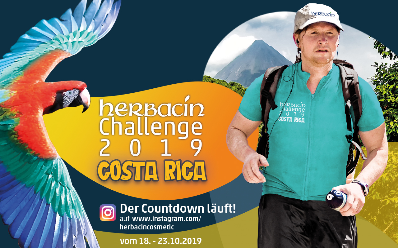 Herbacin Challenge 2019 Costa Rica mit Joey Kelly